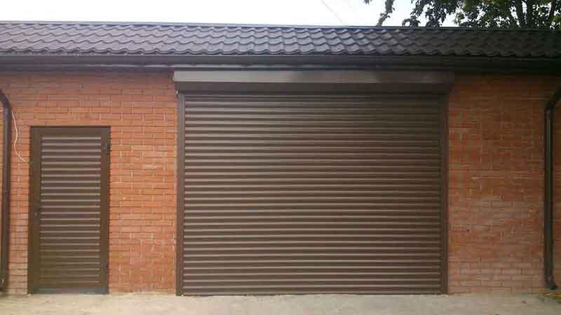ставни металлические двери гаражные ворота